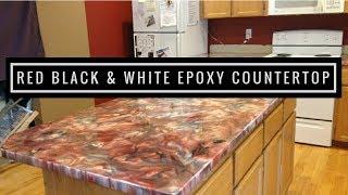 Metallic Epoxy Countertop Coating using Leggari Products thumbnail