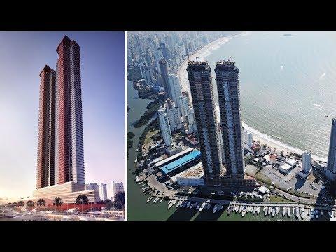 Brazil Builds Western Hemisphere's Tallest Twin Towers | Ferrari's Pininfarina Design
