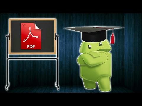 Tutorial:Come Scrivere Su Un File Pdf In Ambiente Android
