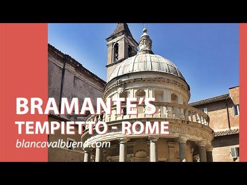 Bramante's Tempietto In Rome, Italy