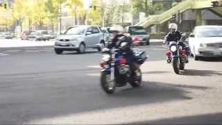 大阪府警の青バイ隊 ホーネット250 - 2009年撮影 青バイ 検索動画 14