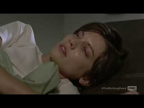 The Walking Dead 7x05 Maggie Wakes Up