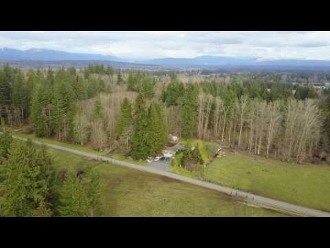 Arlington WA drone footage