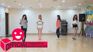 Repeat youtube video Dalshabet(달샤벳) '금토일(FRI. SAT. SUN)' Dance Practice