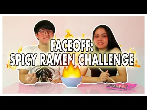 FACE OFF: INDIA VS KOREA - FIRE NOODLE CHALLENGE | WHAT DID SHE SAY!?