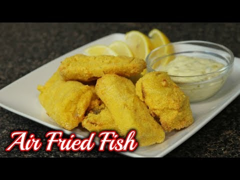 Air Fryer Fried Fish