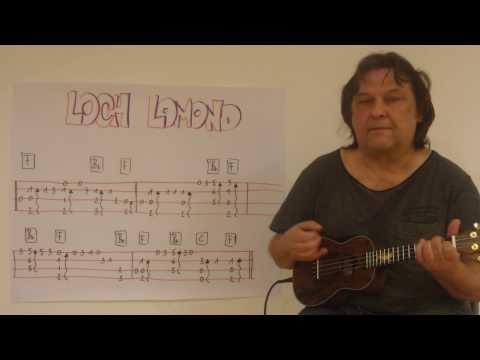 Fingerstyle Ukulele Lesson #59: LOCH LOMOND