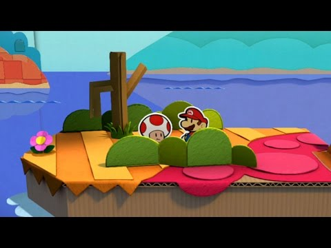 Paper Mario: Color Splash [Part 7] - The Paper Justice Knight Rises...