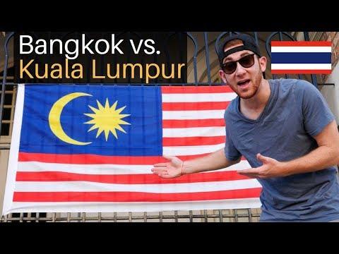 Bangkok vs. Kuala Lumpur (Which is Better?)