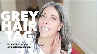 Grey Hair Tag (by Nikol Johnson & Victoria Marie)  | Rocking Fashion & Life in my 50's