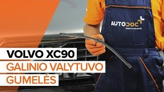 Volvo XC70 Universalas vartotojo vadovas internetinės