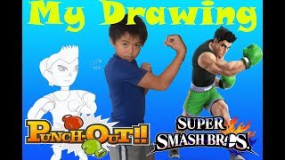 Ren Ryan Drawing  Little mac from Smash Brothers and Punch out Game