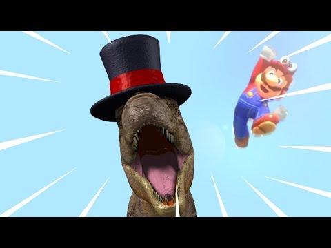 Dinosaur Hat - Mario Odyssey parody song