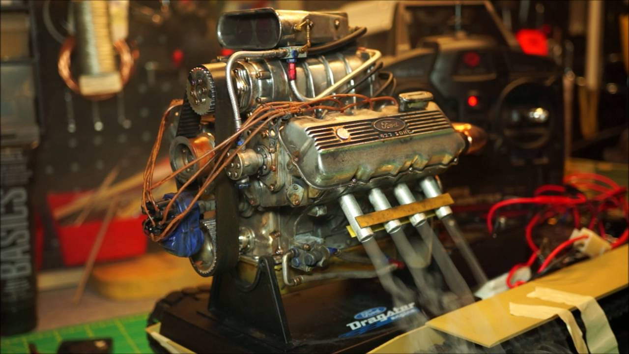 Dodge Charger Engine >> 1/6 scale Liberty Classics Ford Top Fuel Dragster Engine