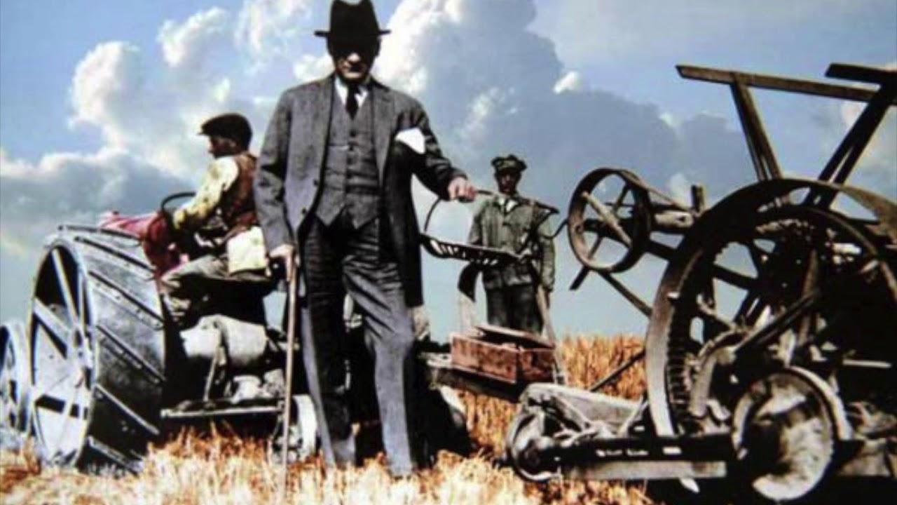 atatürk çiftçi traktör ile ilgili görsel sonucu