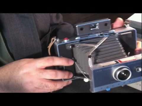 Broken Film Tabs! - Polaroid Automatic Land Camera