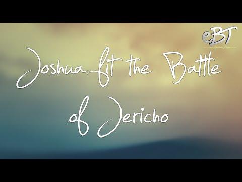 Joshua fit the battle of Jericho - Karaoke [CHORDS & LYRICS]