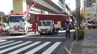 東京都北区滝野川6丁目交差点 交通事故 中山道封鎖・渋滞