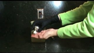 how to replace a candle warmer bulb gu 10 25 w 120v halogen