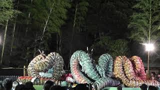 諏訪神社大竜の舞は五穀豊穣・国家安泰・家内安全の祈りを込めて、昭和...