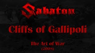 Repeat youtube video Sabaton - Cliffs of Gallipoli (Lyrics English & Deutsch)