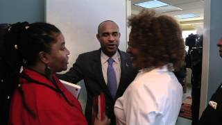 La très honorable Michaëlle Jean rencontre Laurent Salvador Lamothe.