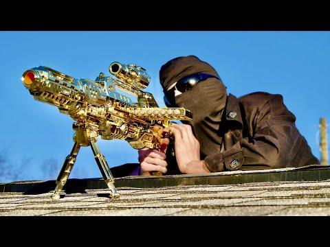 Nerf War: The Golden Sniper