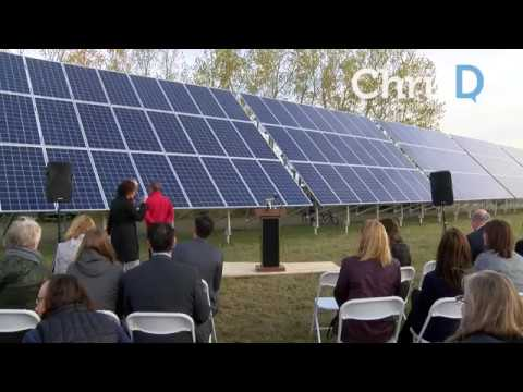 FortWhyte Alive Solar Power Installation - October 12, 2017 - Winnipeg, Manitoba