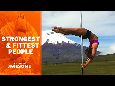 Most Impressive Fit & Strong People   Ultimate Compilation