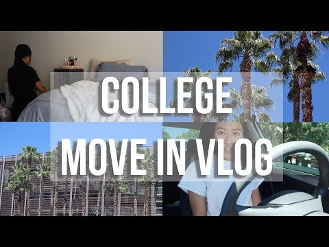 COLLEGE MOVE IN VLOG   University of Arizona   vlog #36