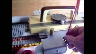 Adjusting Tension on a Knitting Machine