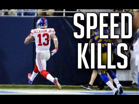 NFL Best 'Speed Kills' Moments || HD (Part 5)