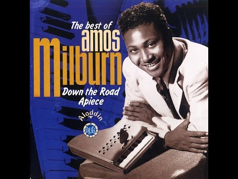 Down The Road Apiece - Piano Sheet Music - Amos Milburn - Blues & Boogie