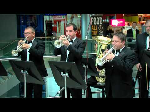 Fanfare For The Common Man performed by the RTÉ Concert Orchestra in Terminal 2, Dublin Airport.