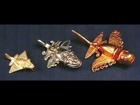 The Mysterious golden artifacts in America