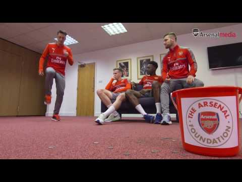 Mesut Ozil assists The Arsenal Foundation