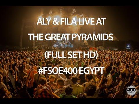 Aly & Fila Live at the Great Pyramids (Full Set HD) #FSOE400 Egypt