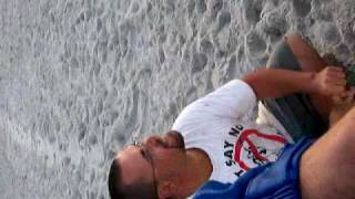 GAS MASTER FARTS IN THE WIND AT THE BEACH