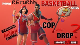 *NEW* Rare Basketball Skins Return In Fortnite! Is It A COP or a DROP? (Road To 250 Subs)