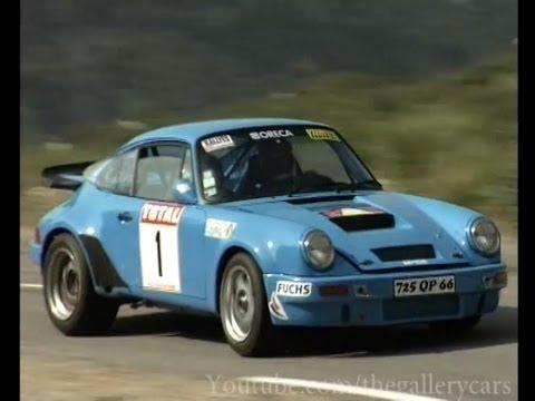 Porsche 911 Carrera Historic Rally Car - YouTube