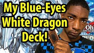 MY YUGIOH BLUE-EYES WHITE DRAGON DECK! (Decklist in Description)