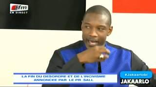 Pape Djibril Fall à Macky Sall: