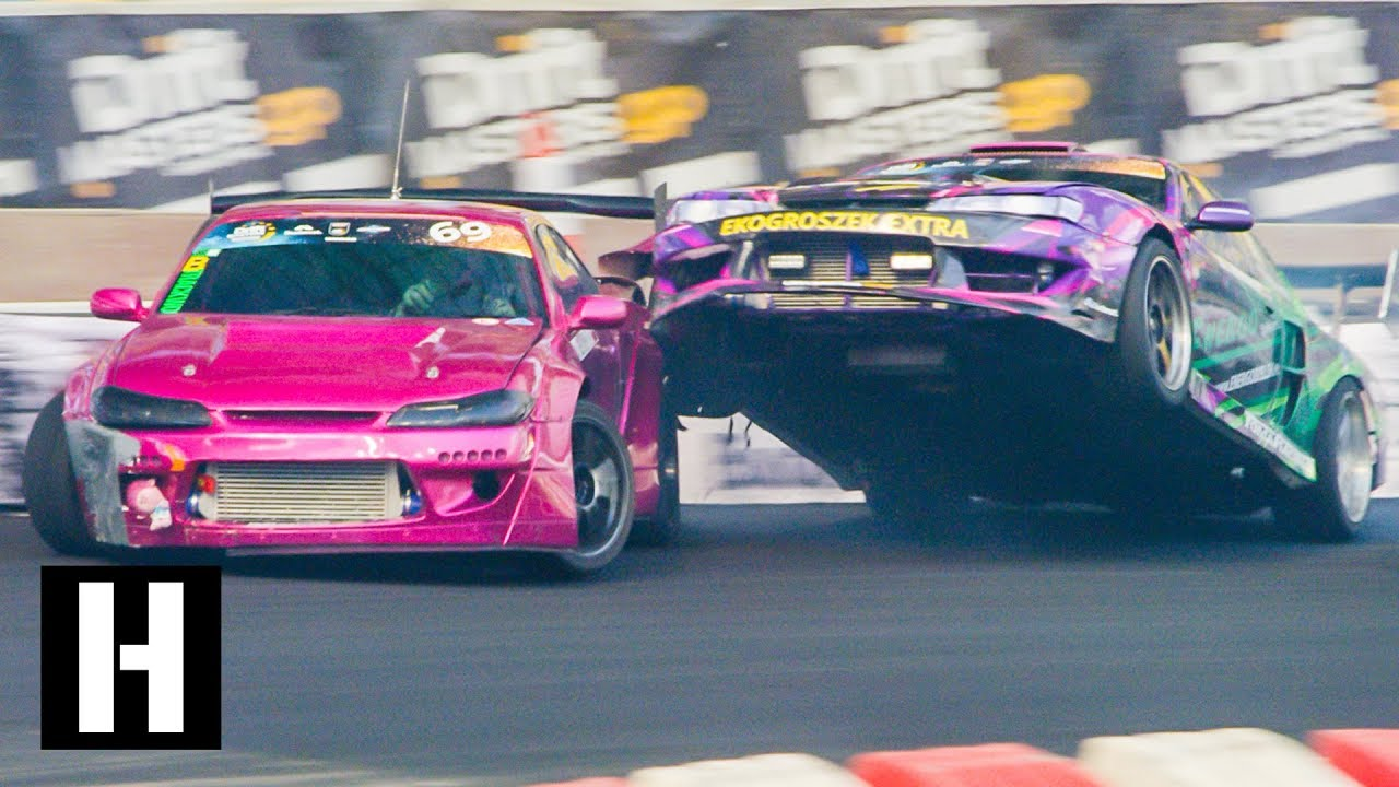 DRIFT FIX: Wild Race Drone POV Footage, Savage Crashes, and More at Drift Masters!