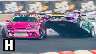 Wild Race Drone POV Footage, Savage Crashes, and More at Drift Masters!