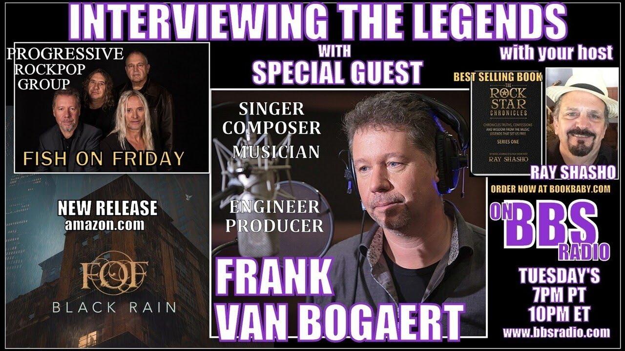 Frank Van Bogaert 'Fish on Friday' Lead Singer