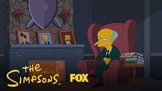 THE SIMPSONS   Mr. Burns Endorses Romney   ANIMATION on FOX