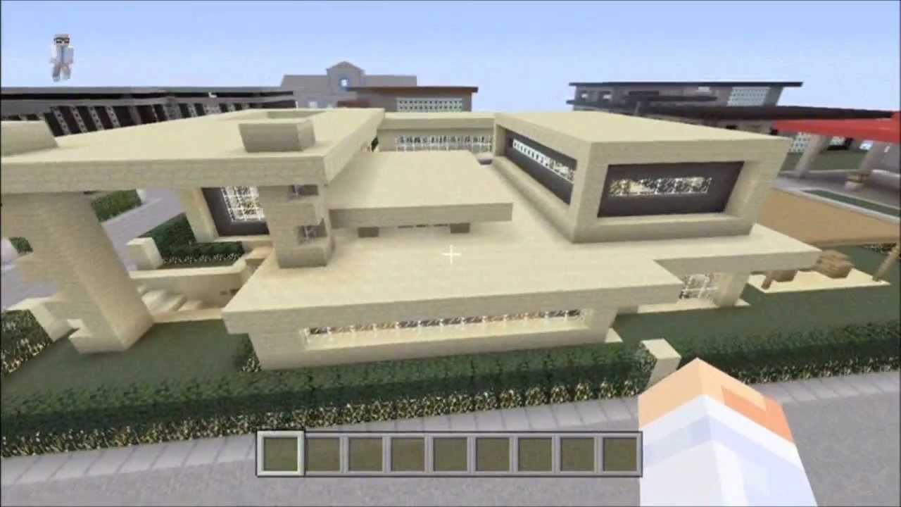Modern House Tour Minecraft xbox 360 4 with download YouTube