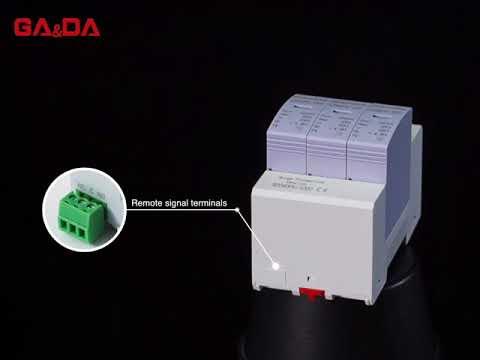 PV type TUV certificate power class 40KA 1000V solar surge protector