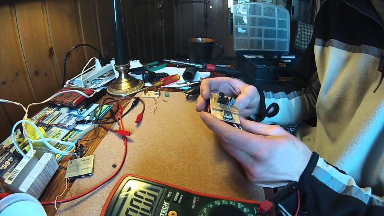 Phone Charger Using The Mc34063 Switching Regulator