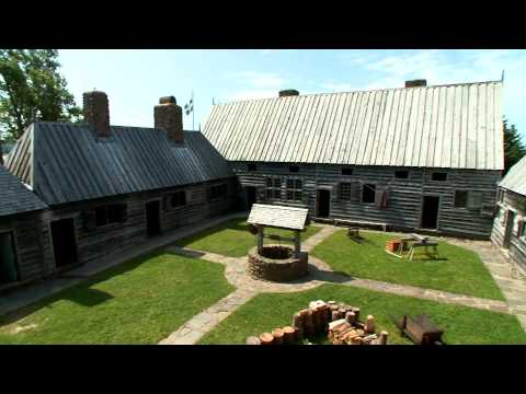 À-la-découverte-du-passé---port-royal,-nouvelle-Écosse,-canada